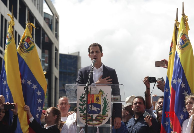 Aid enters Venezuela from Feb. 23: Guaido