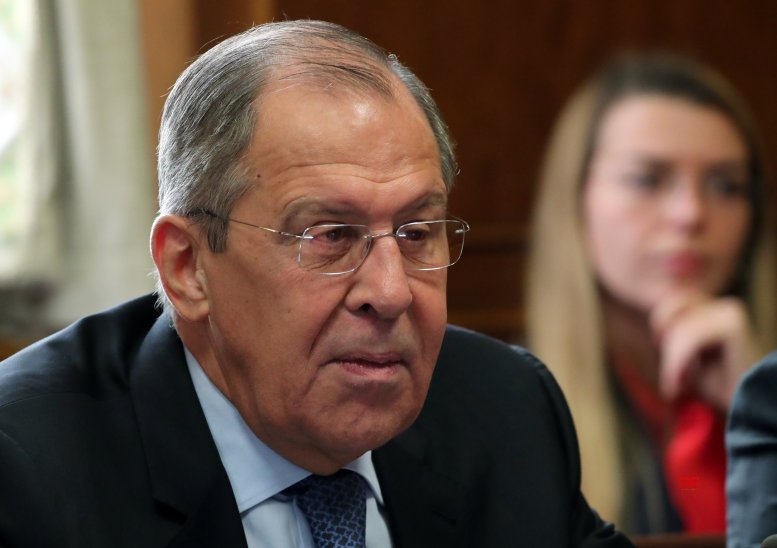 Russia's Lavrov warns Pompeo against US interference in Venezuela