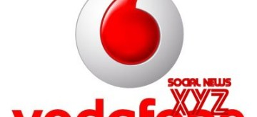 Vodafone logo. (File Photo: IANS)