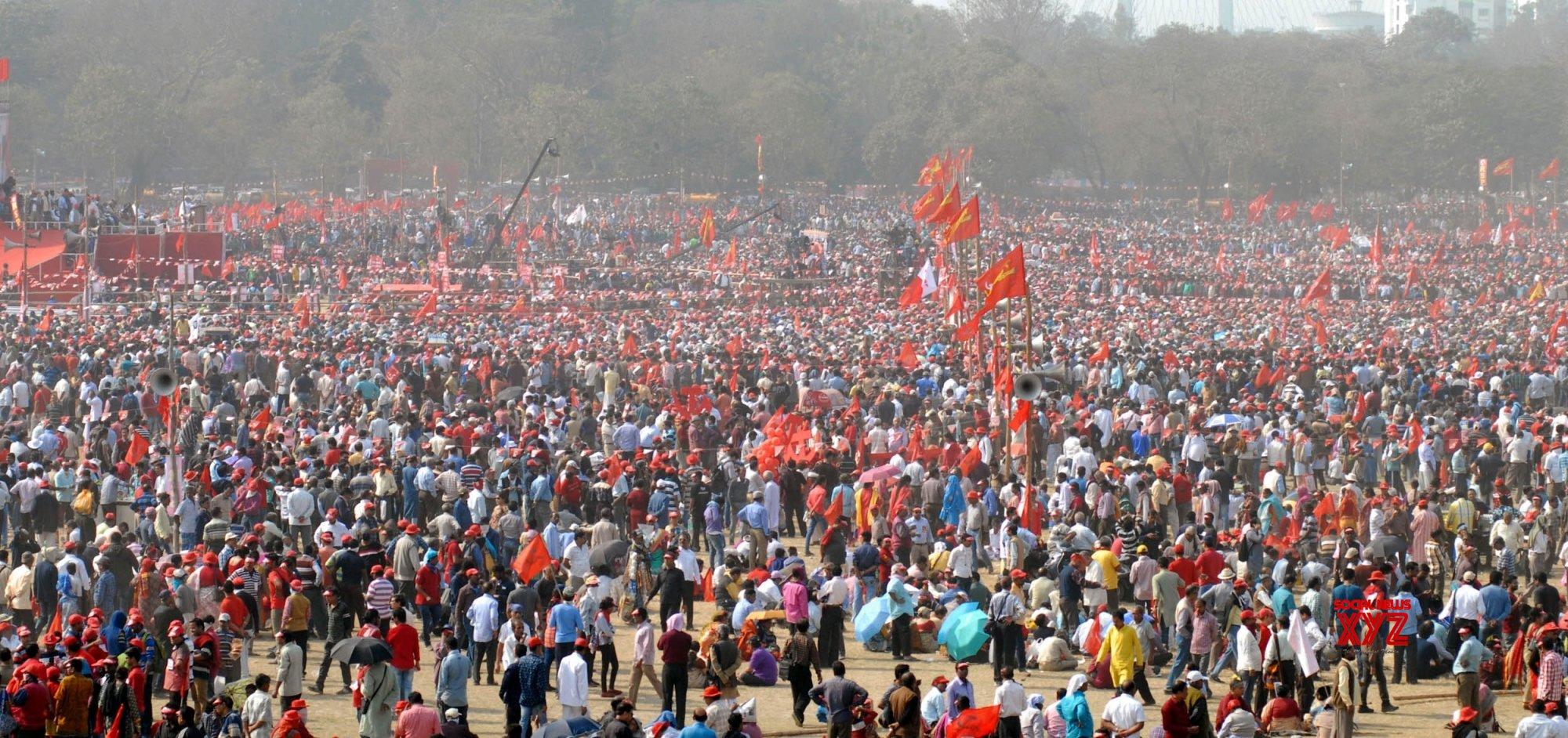 Kolkata: Left Front rally #Gallery