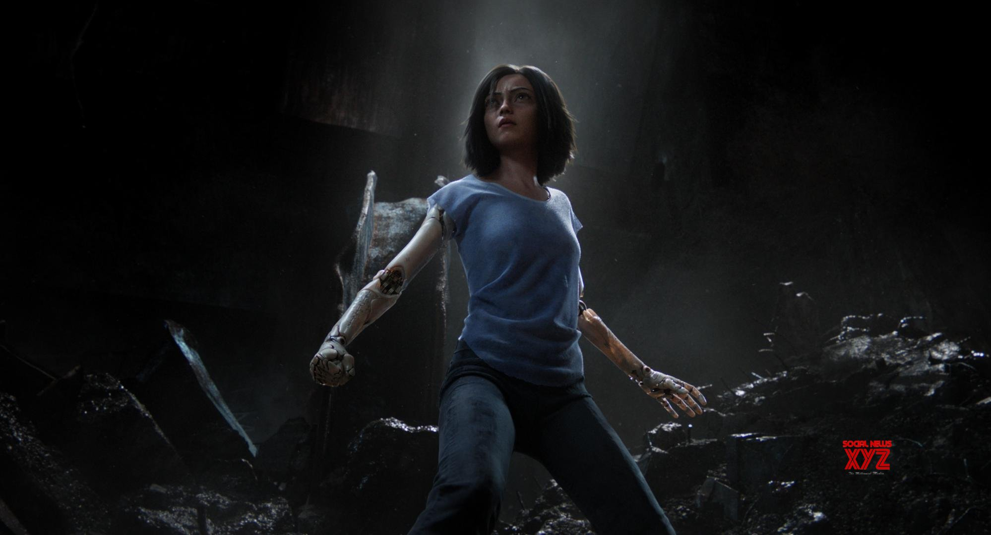 Rosa Salazar Interview about Alita Battle Angel