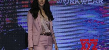 Mumbai: Actress Vaani Kapoor walks the ramp at the launch of the spring-summer collection of Marks & Spencer, in Mumbai on Feb 7, 2019. (Photo: IANS)