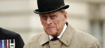 LONDON, Aug. 3, 2017 (Xinhua) -- Britain's Prince Philip, Duke of Edinburgh, reacts as he attends a parade in the role of Royal Marines' Captain General for the last time at Buckingham Palace in London, Britain on Aug. 2, 2017. Prince Philip, husband of Queen Elizabeth II, carries out his final solo public engagement Wednesday before he retires from royal duties. (Xinhua/Pool/IANS)