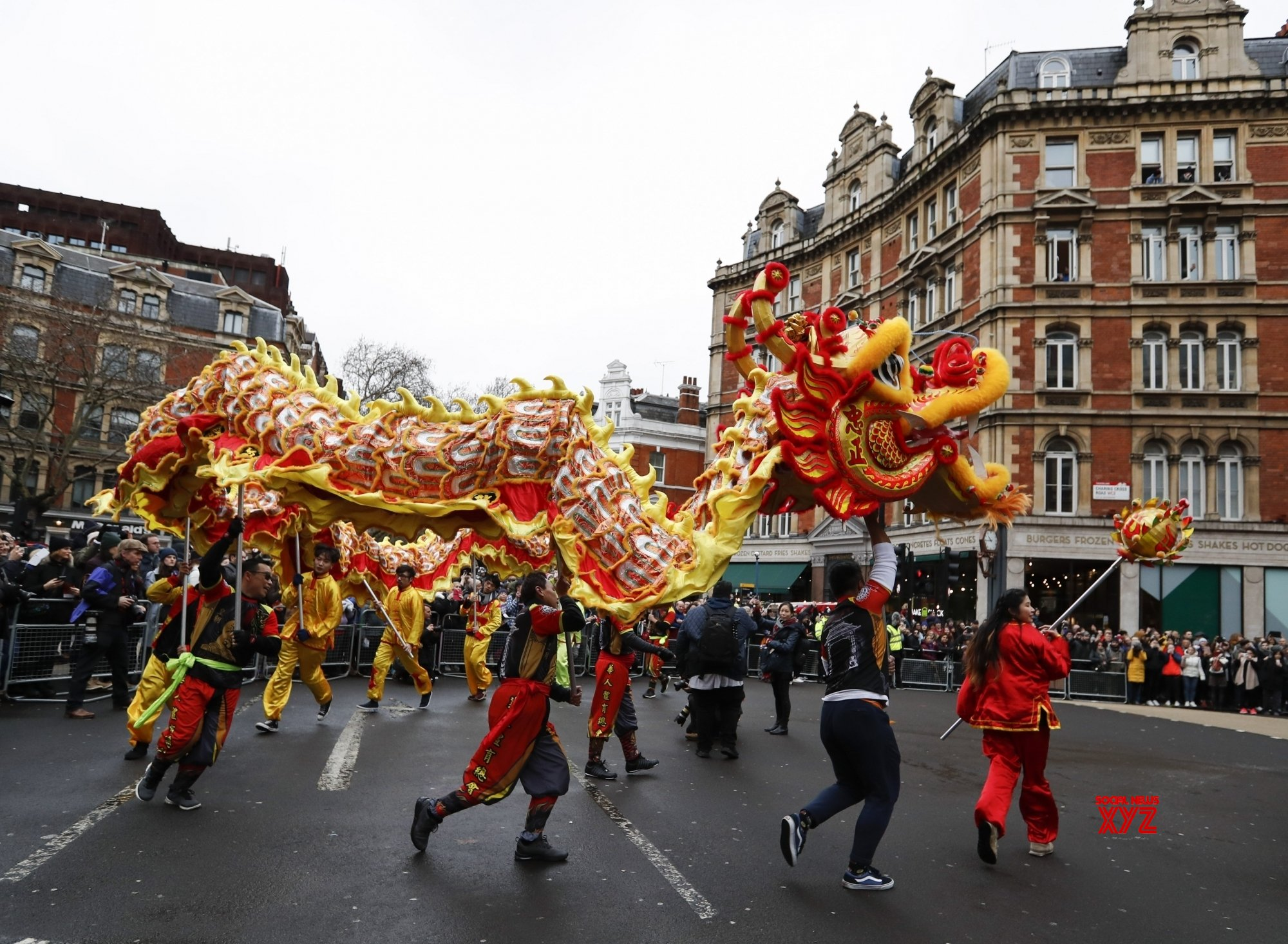 BRITAIN - LONDON - CHINESE LUNAR NEW YEAR - CELEBRATION #Gallery