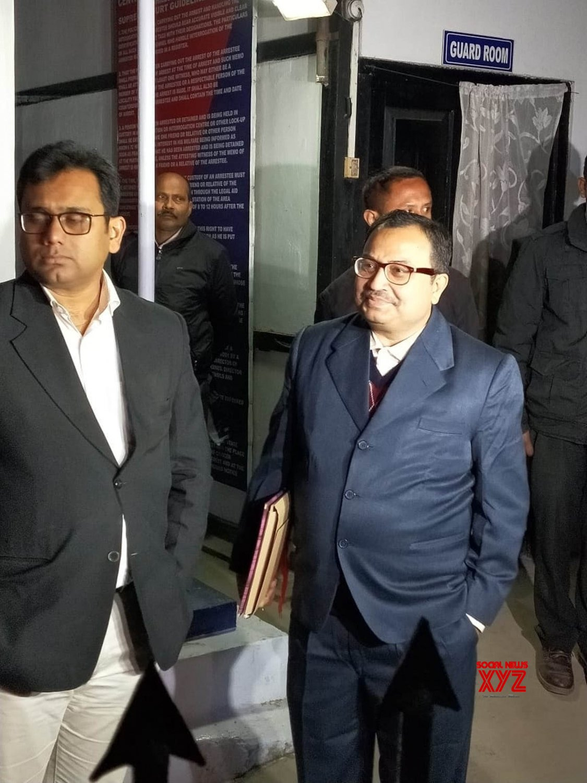 Shillong: Kunal Ghosh appears before CBI #Gallery