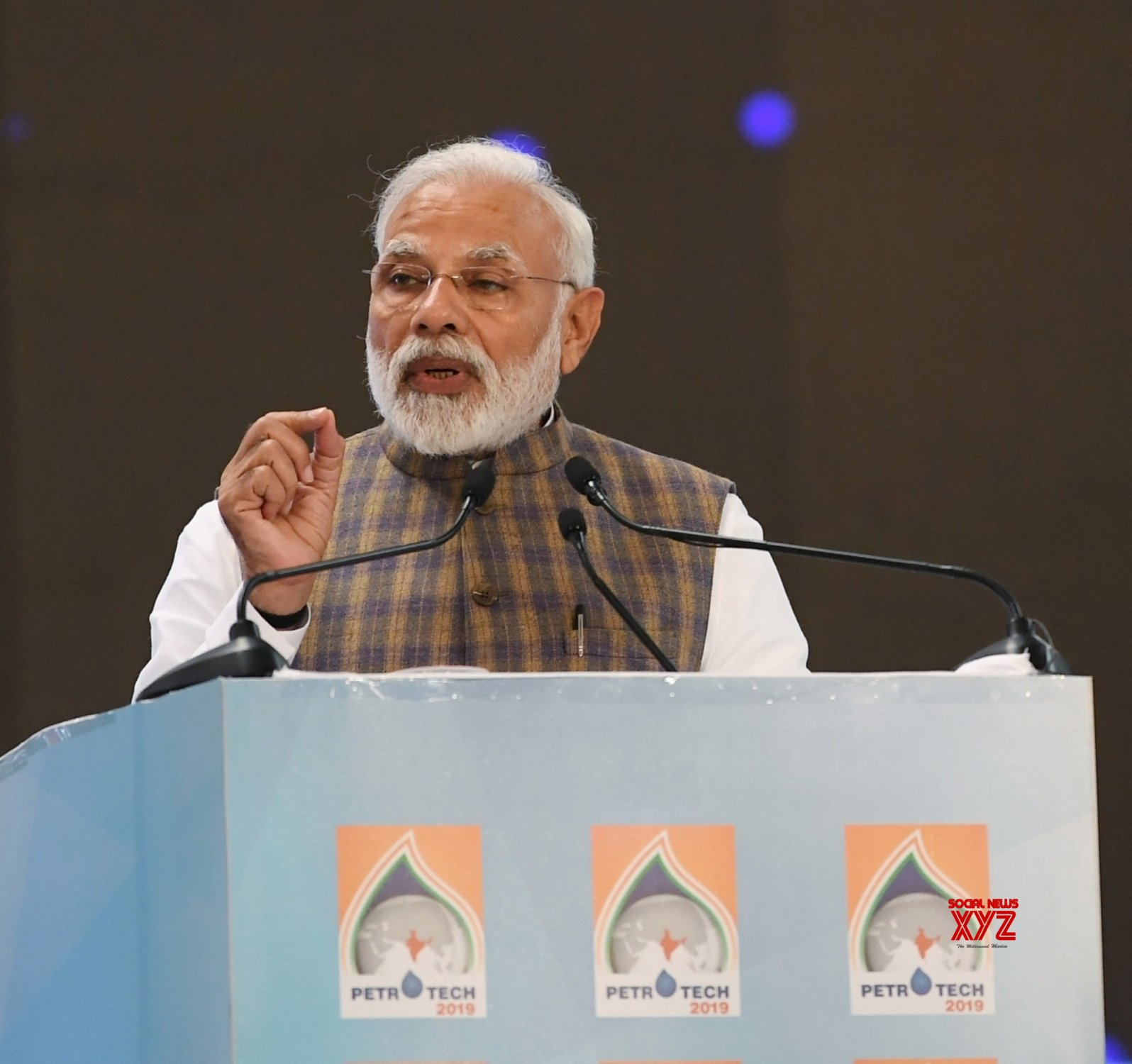 Greater Noida: PETROTECH - 2019 - PM Modi #Gallery