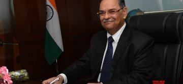New Delhi: Rishi Kumar Shukla takes charge as the new CBI chief, in New Delhi on Feb 4, 2019. (Photo: IANS)