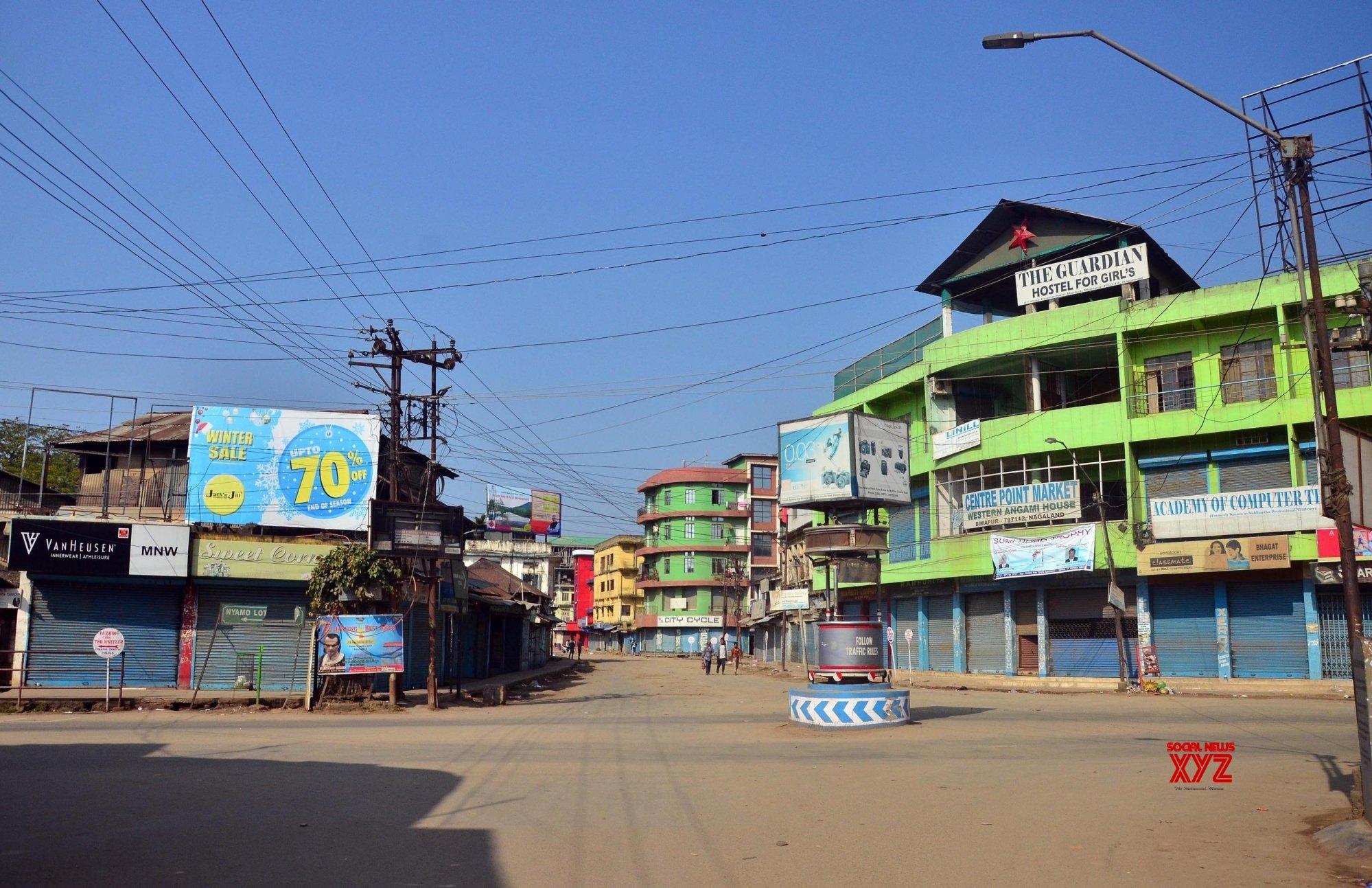 Shutdown in Nagaland over Citizenship Bill