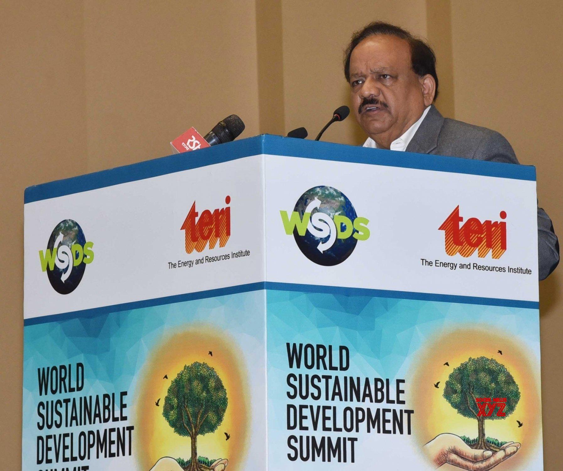 New Delhi: World Sustainable Development Summit 2019 - Venkaiah Naidu, Harsh Vardhan #Gallery