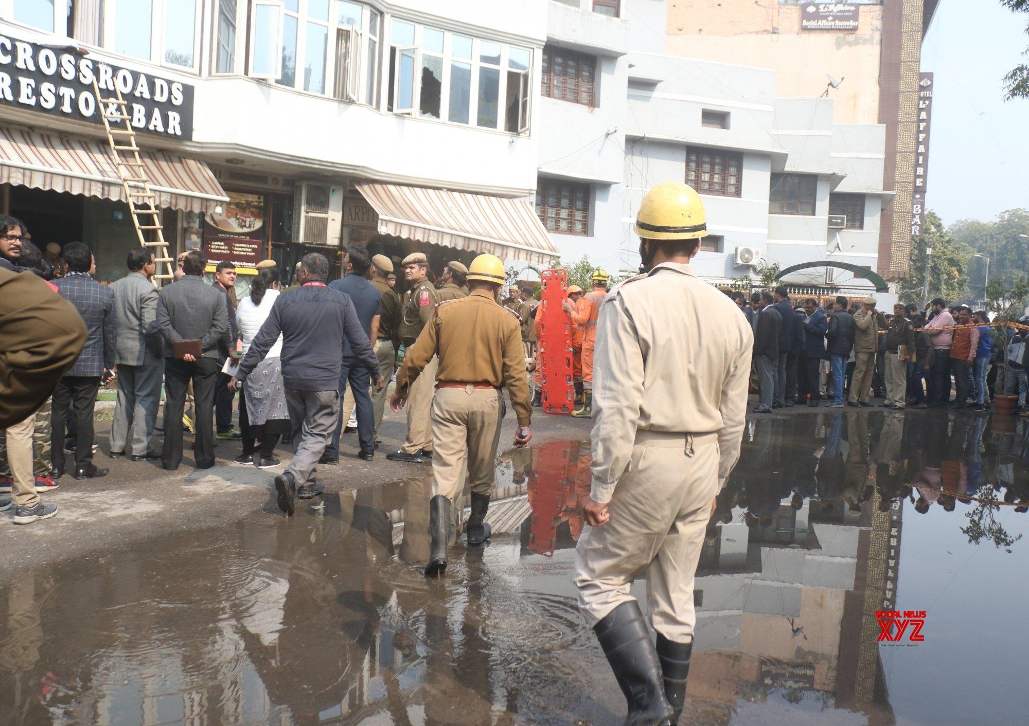New Delhi: Karol Bagh hotel fire (Batch - 4) #Gallery