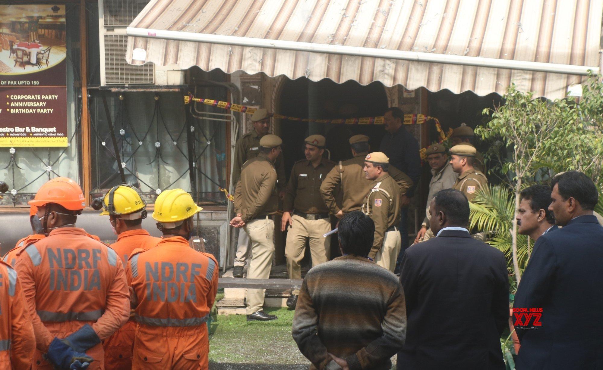 New Delhi: Karol Bagh hotel fire (Batch - 5) #Gallery