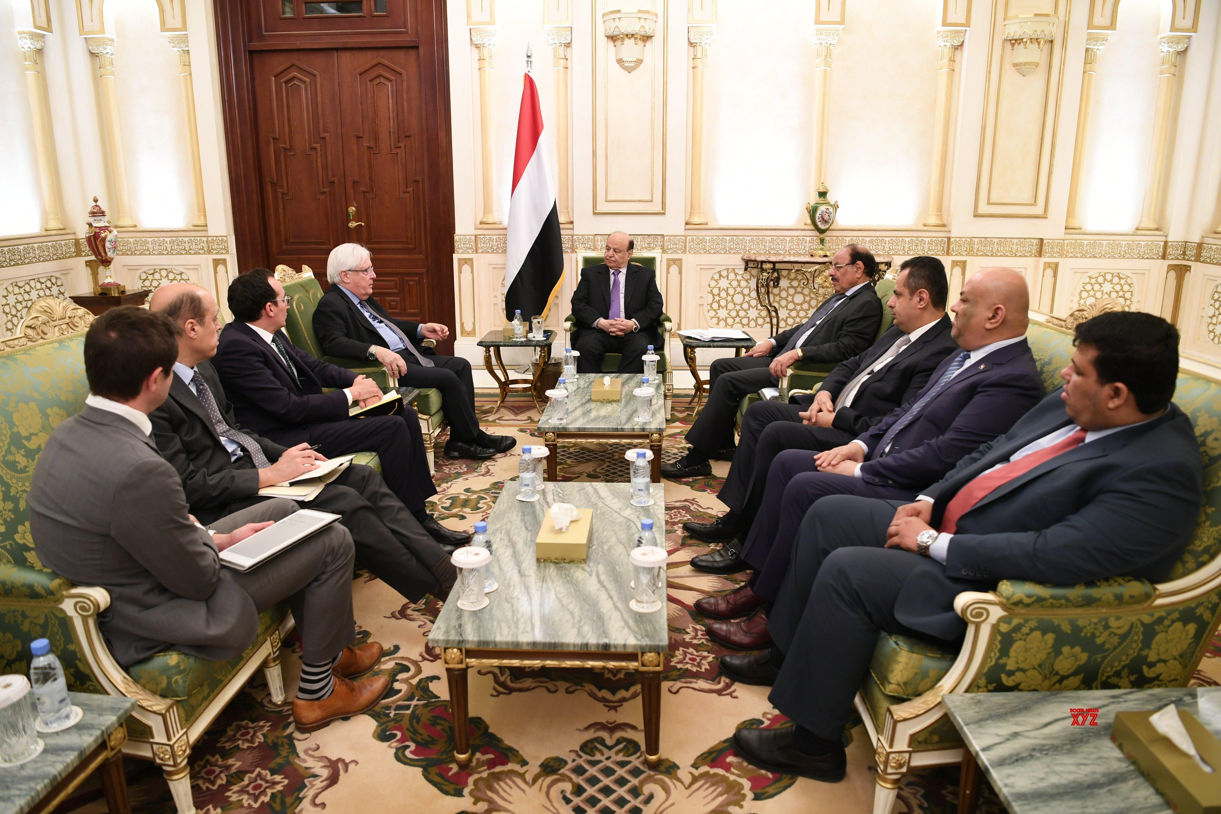 SAUDI ARABIA - RIYADH - YEMENI PRESIDENT - UN ENVOY - MEETING #Gallery