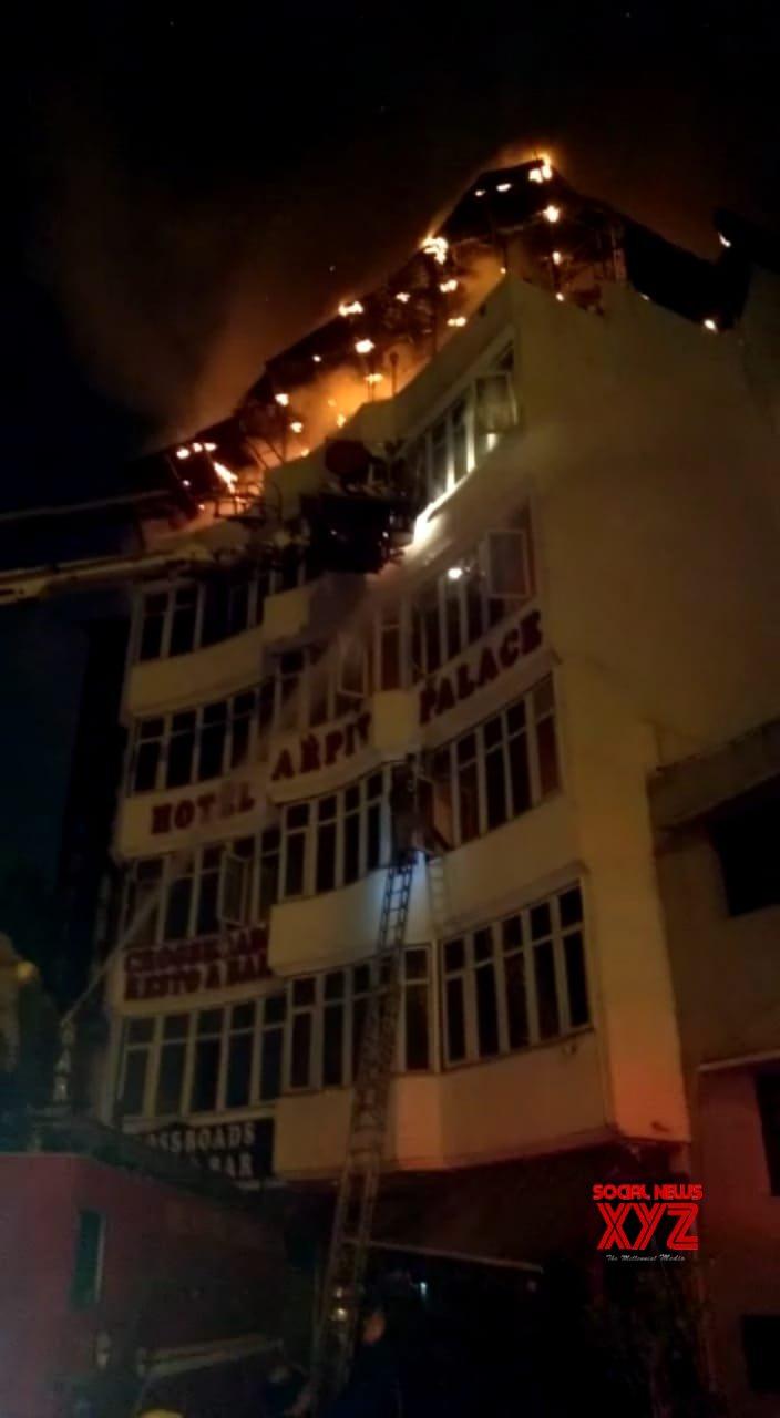 Delhi hotel fire horror leaves 17 dead, case filed against hotel owner