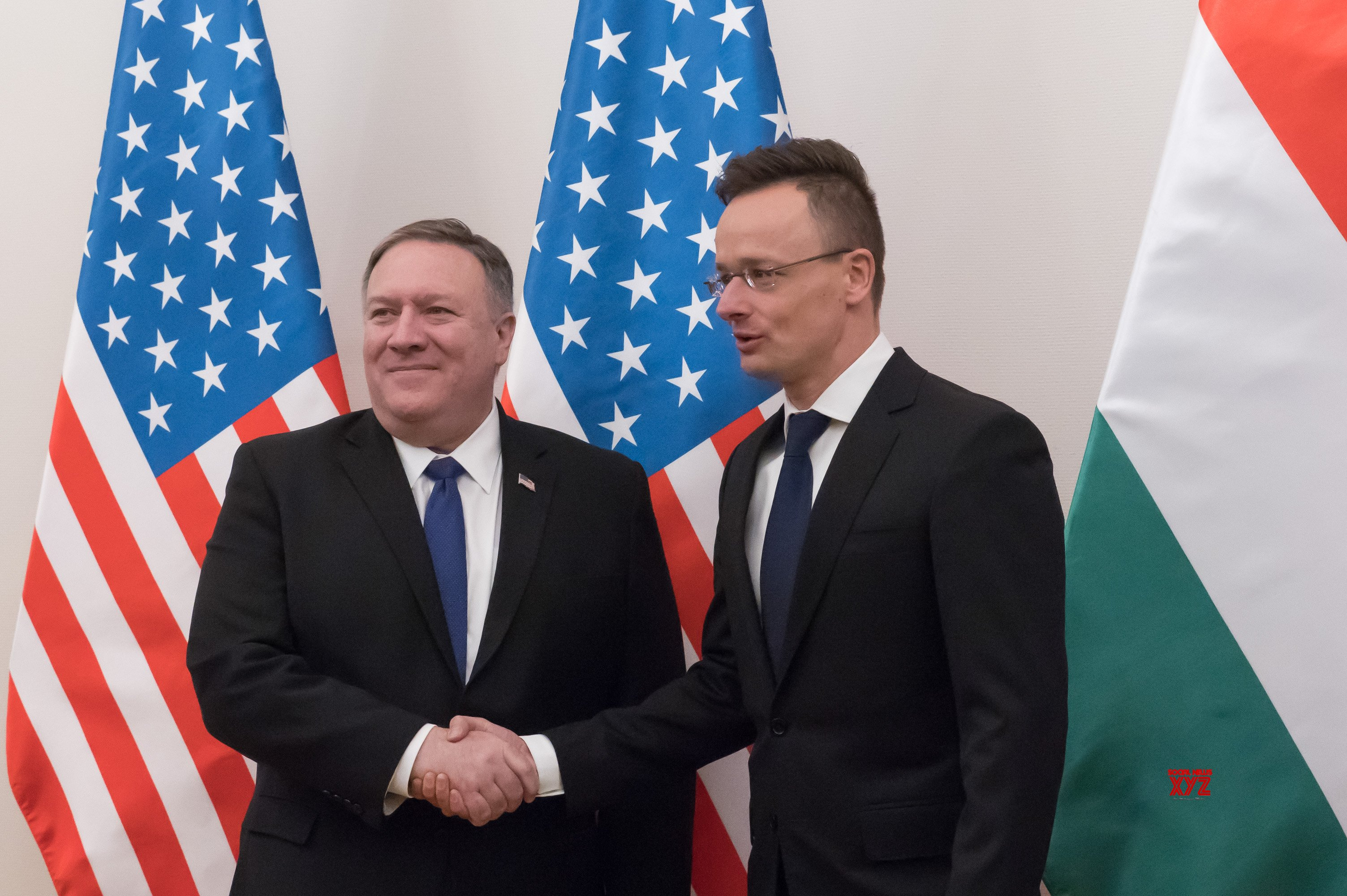 HUNGARY - BUDAPEST - U.S. - SECRETARY OF STATE - VISIT #Gallery