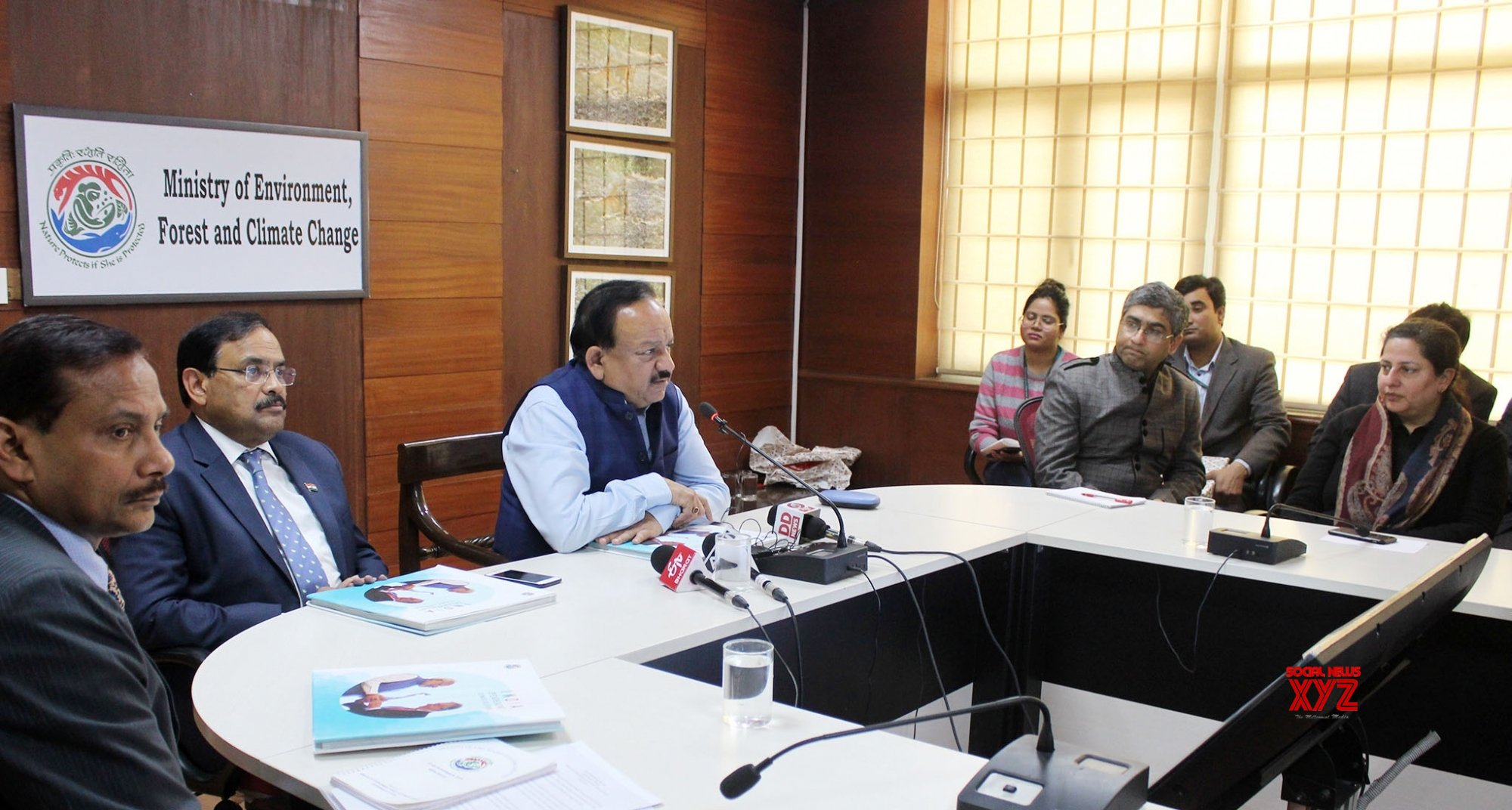 New Delhi: Harsh Vardhan releases publication on climate actions in India #Gallery