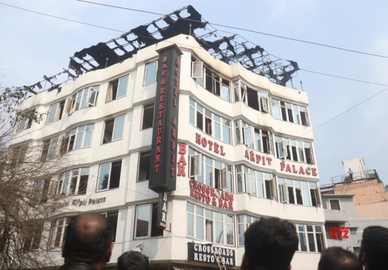 IRS officer among 17 dead in Delhi hotel fire