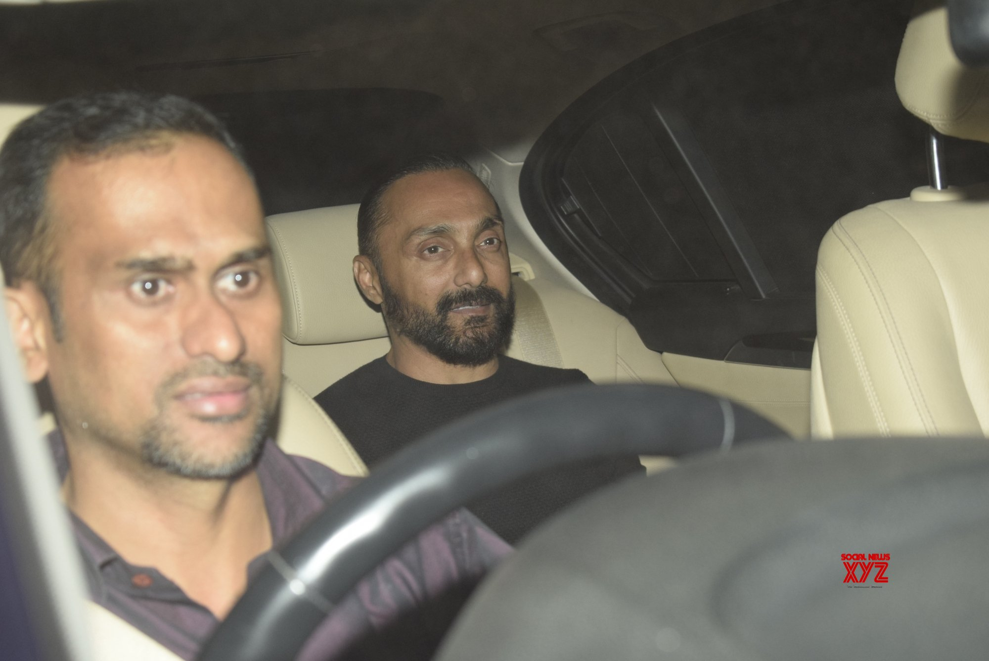 "Mumbai: - ""Gully Boy"" screening - Rahul Bose #Gallery"