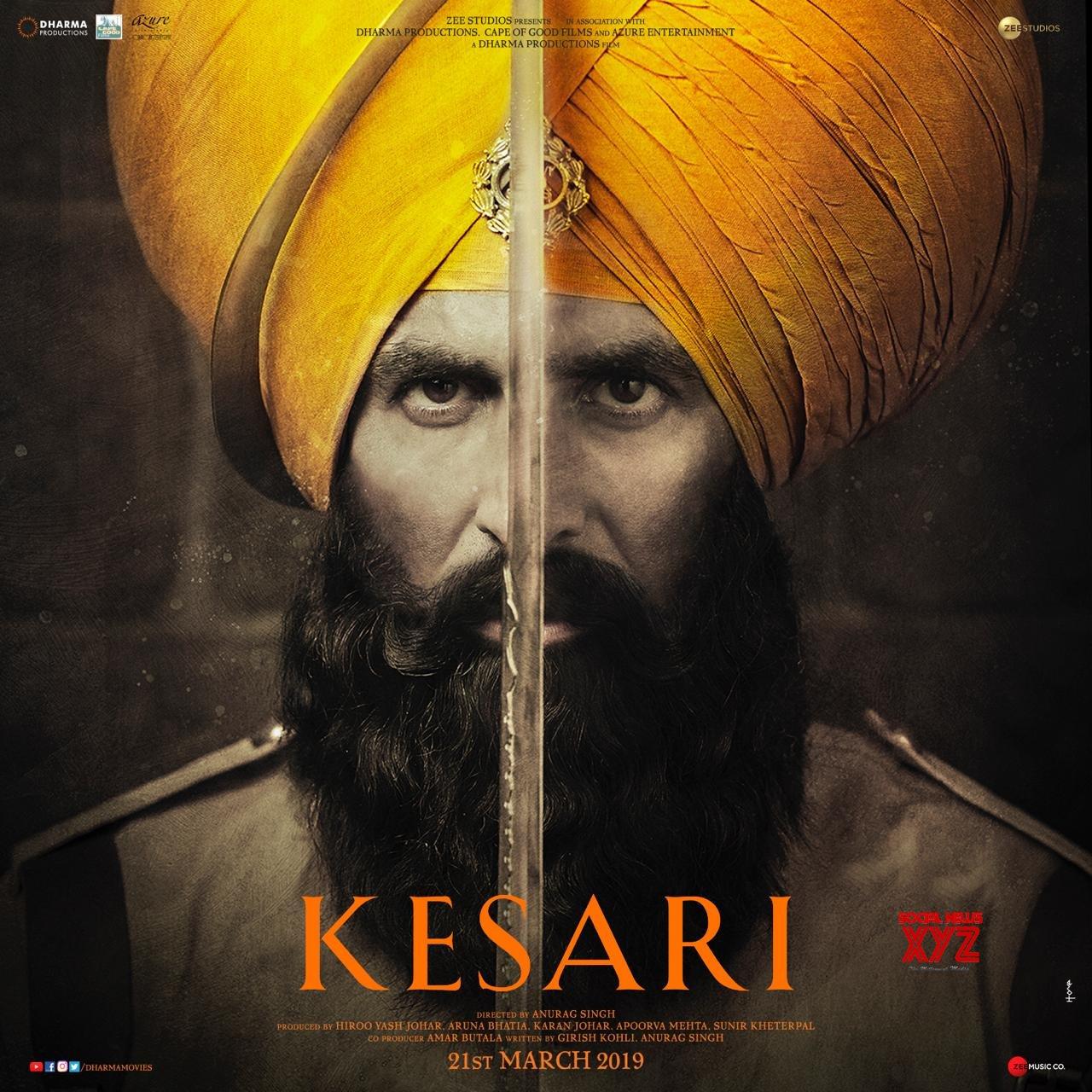 Akshay Kumar's Kesari Movie New Poster