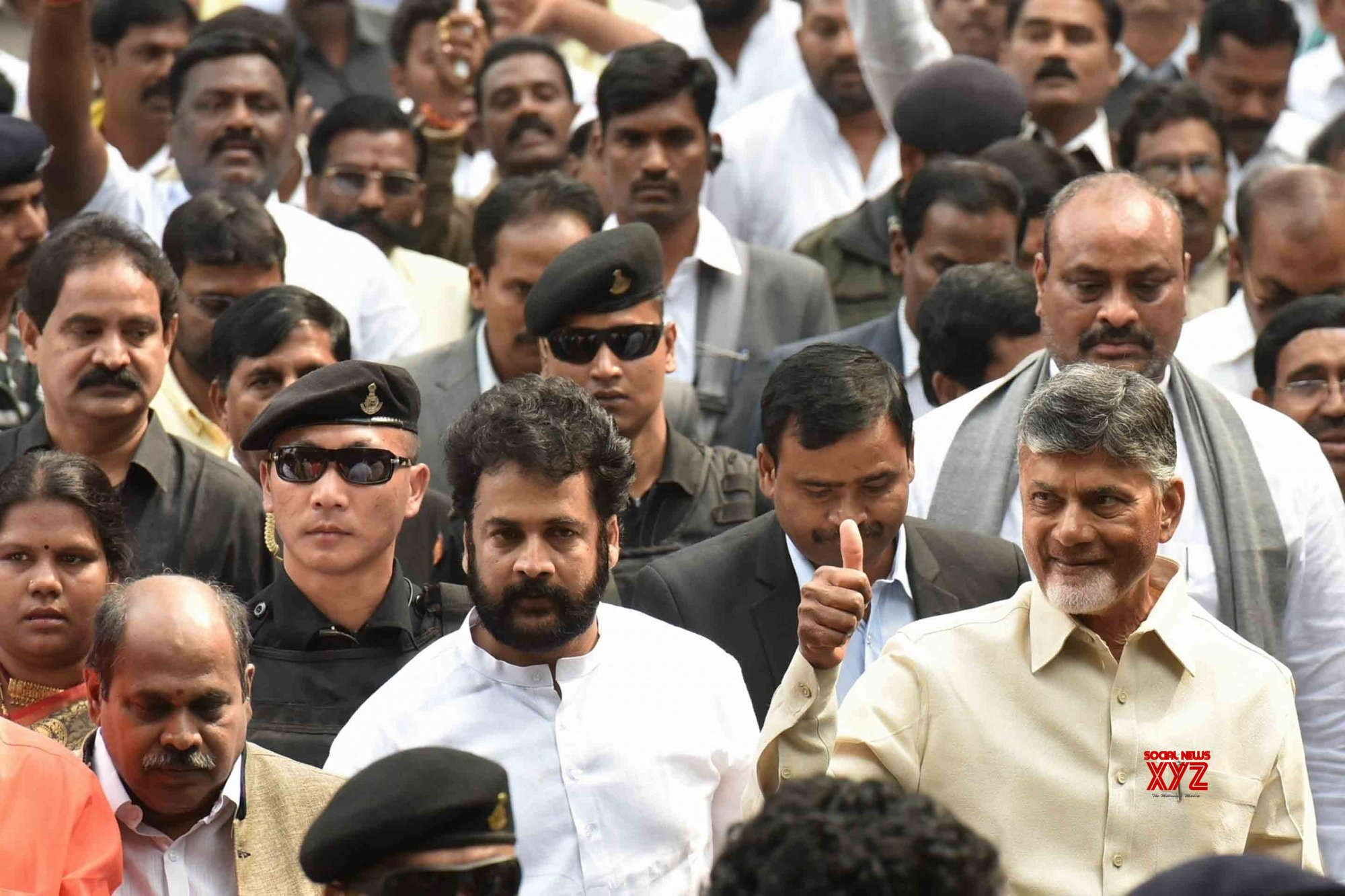 Grand Alliance possible among some parties before polls: Naidu