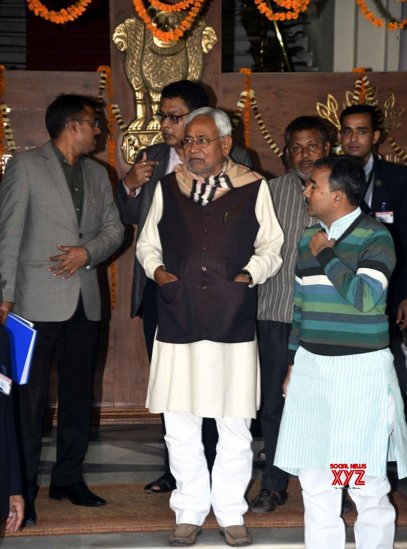 Patna: Nitish Kumar at Bihar assembly #Gallery