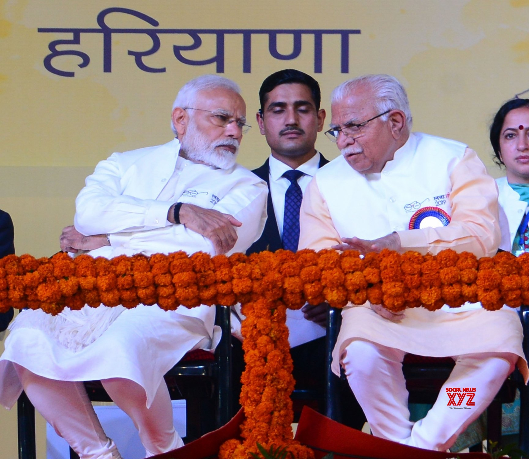 Kurukshetra: Modi launches Swachh Shakti - 2019 in HAryana #Gallery