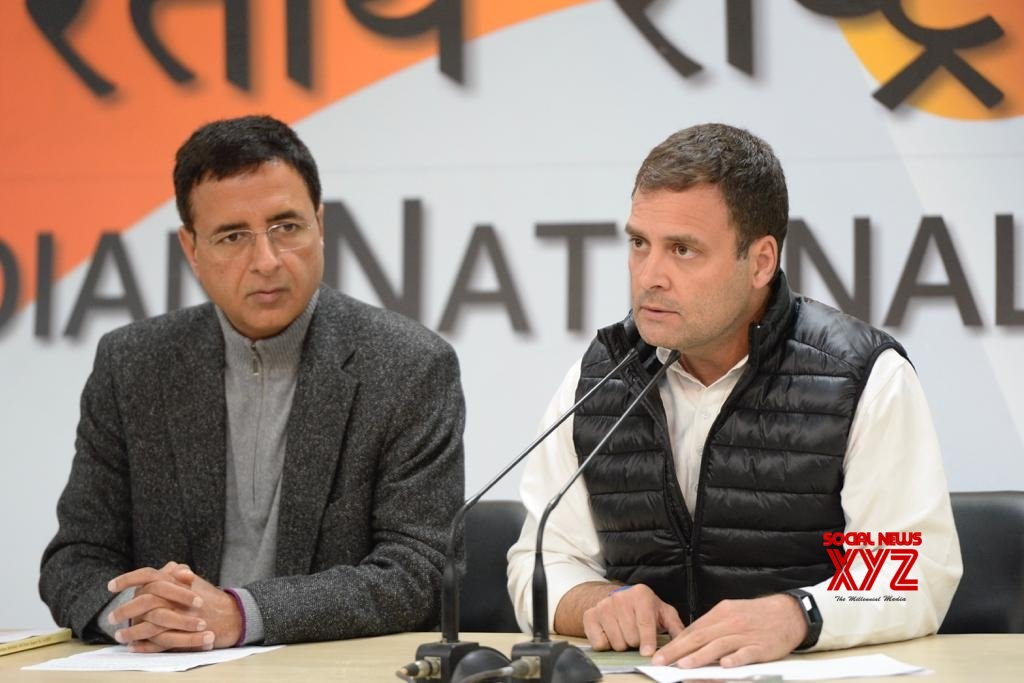 New Delhi: Rahul Gandhi's press conference #Gallery