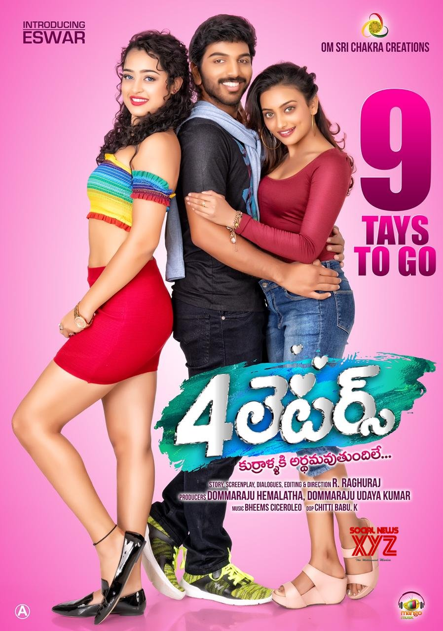 4 Letters Movie 9 Days To Go Poster