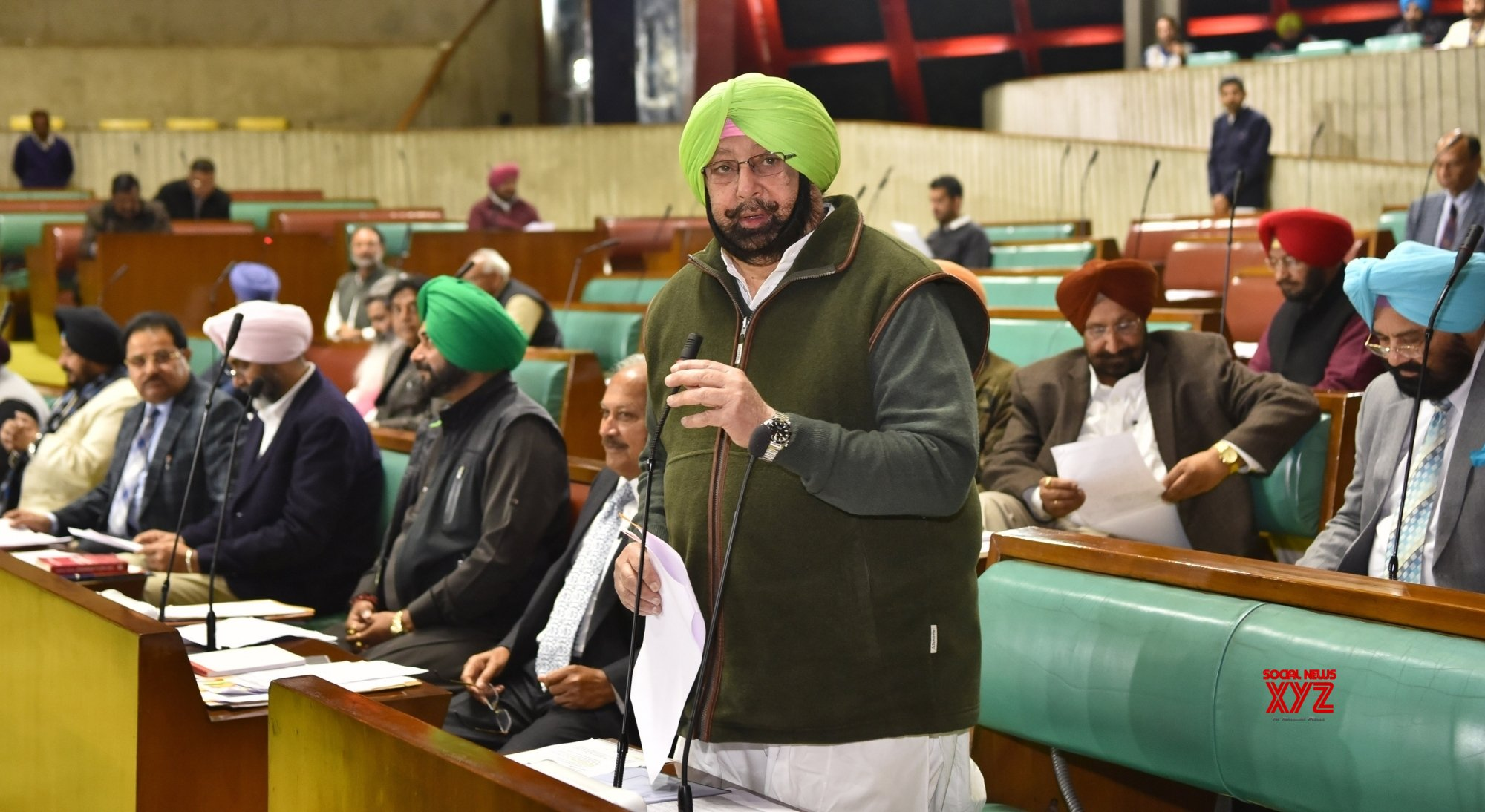Chandigarh: Punjab budget session - Amarinder Singh #Gallery