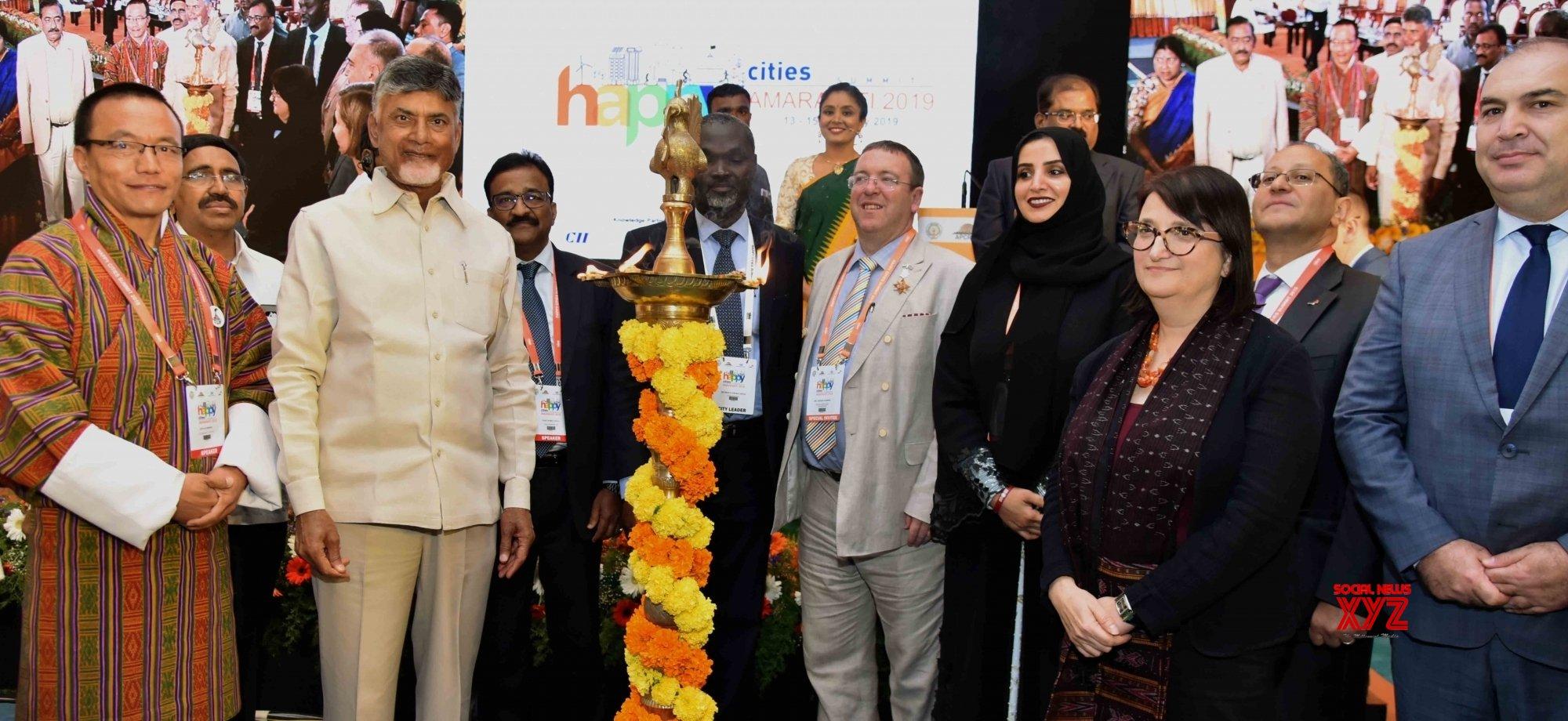 Amaravathi: Happy Cities Summit 2019 - inauguration #Gallery