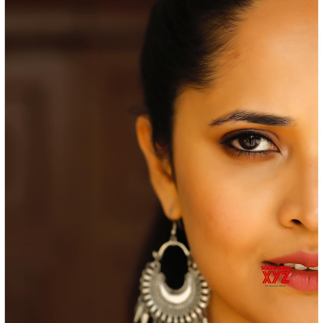 Actress Anasuya Bharadwaj Newest Glam Stills