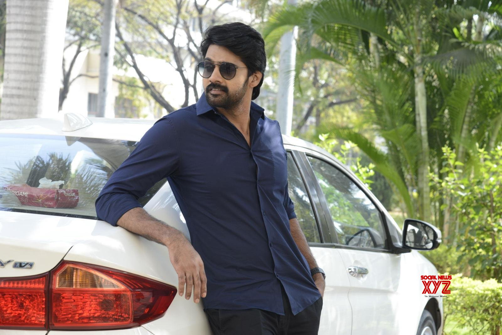 Hero Naveen Chandra Stills From Hero Heroine Movie Teaser Launch