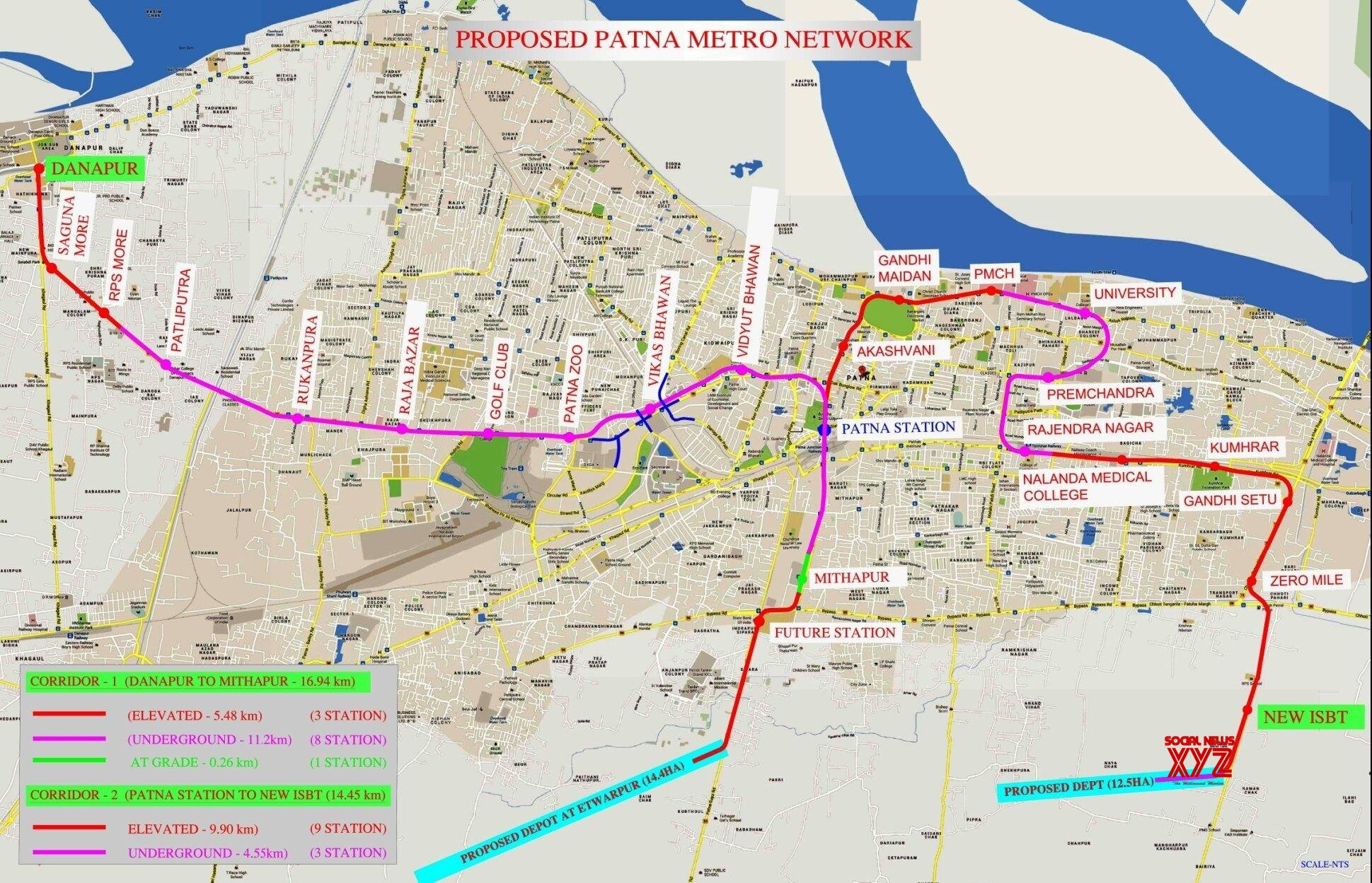 Cabinet clears metro rail project for Patna