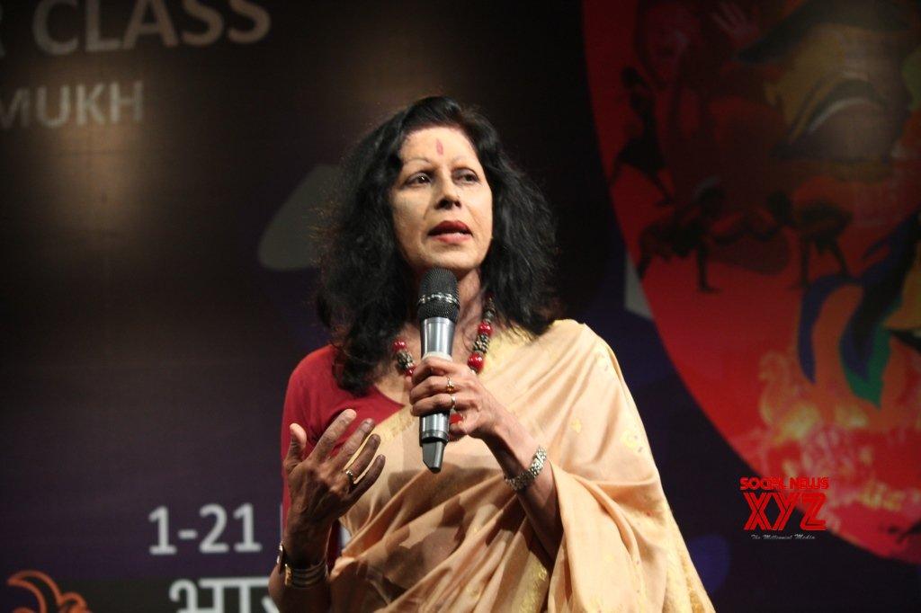 New Delhi: Bharat Rang Mahotsav 2019 - Shovana Narayan #Gallery