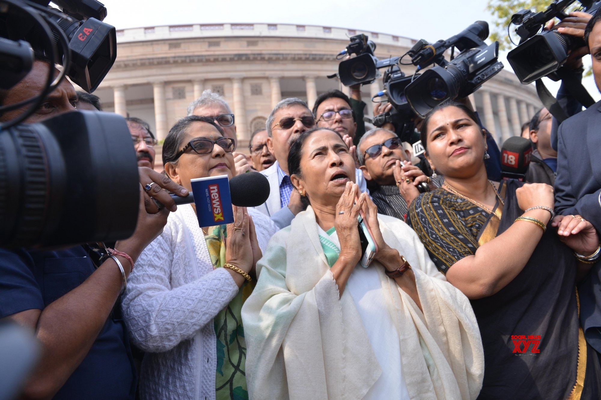 New Delhi: Mamata Banerjee at Parliament #Gallery