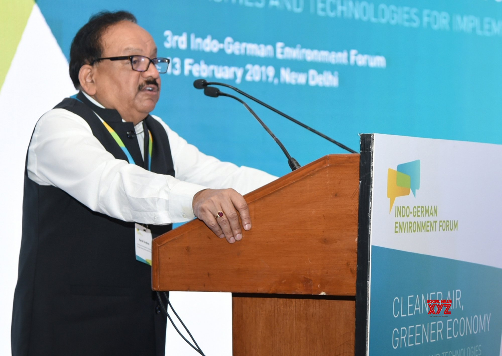 New Delhi: 3rd Indo - German Environment Forum - Harsh Vardhan #Gallery