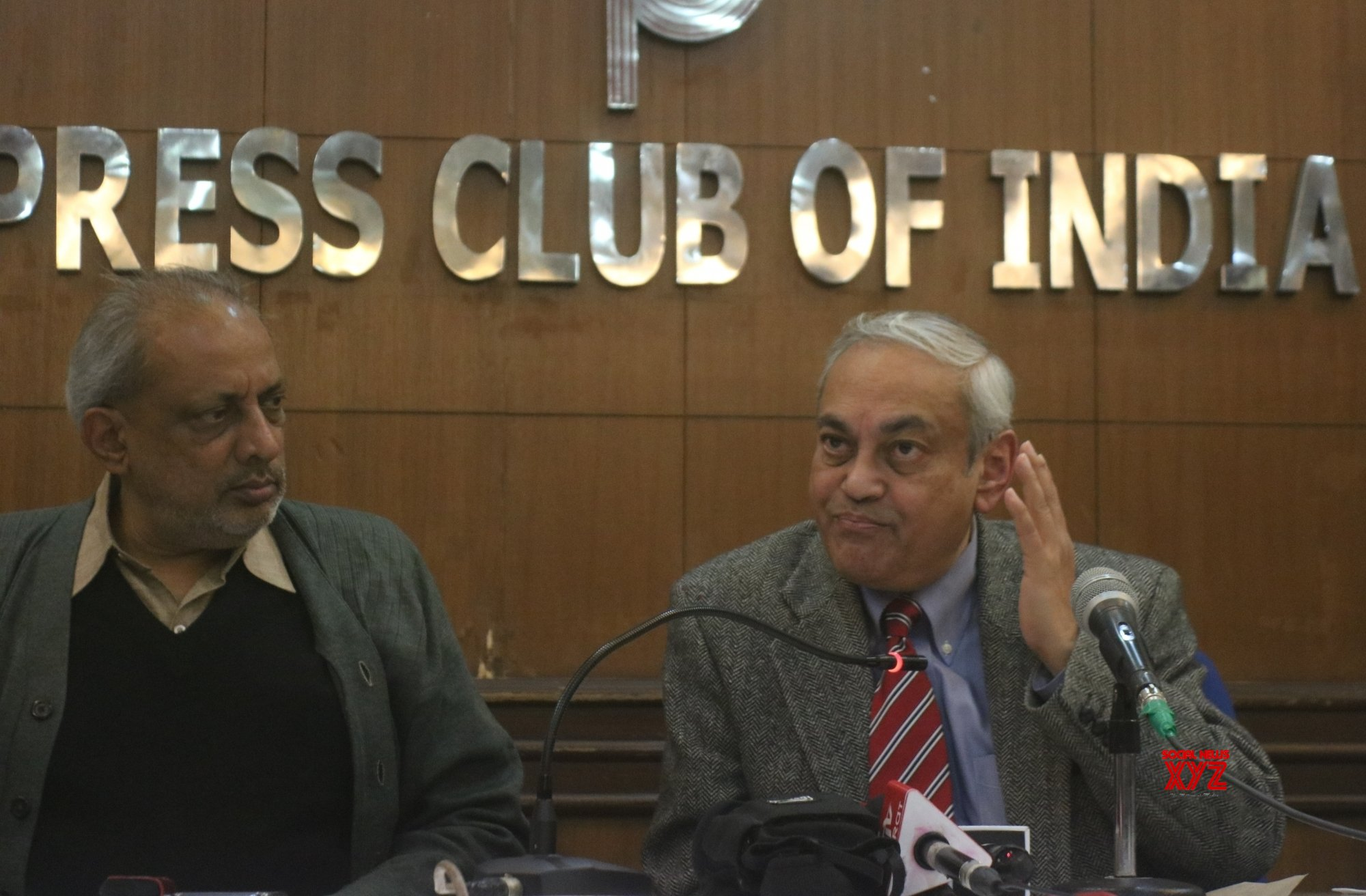 New Delhi: Ashis Ray's press conference over EVMs #Gallery