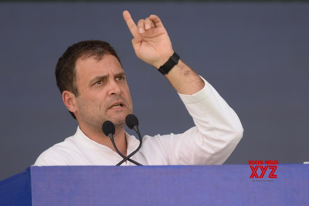 Valsad: Rahul Gandhi addresses public meeting in Gujarat #Gallery