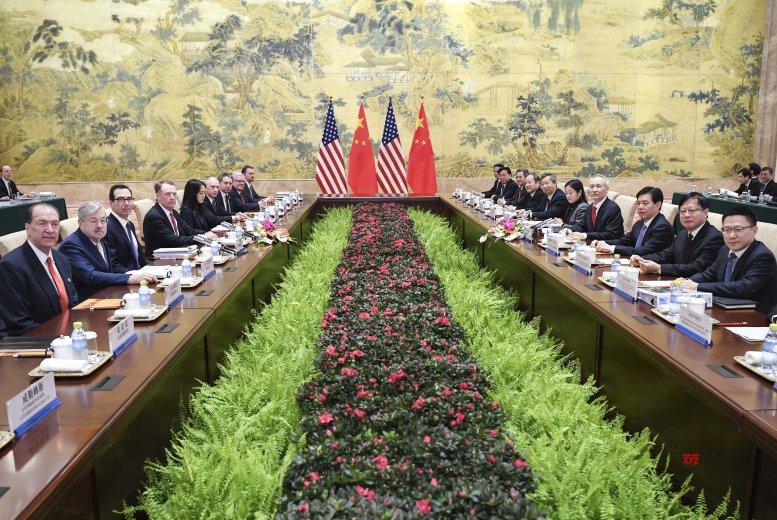 China-US trade negotiations underway in Beijing