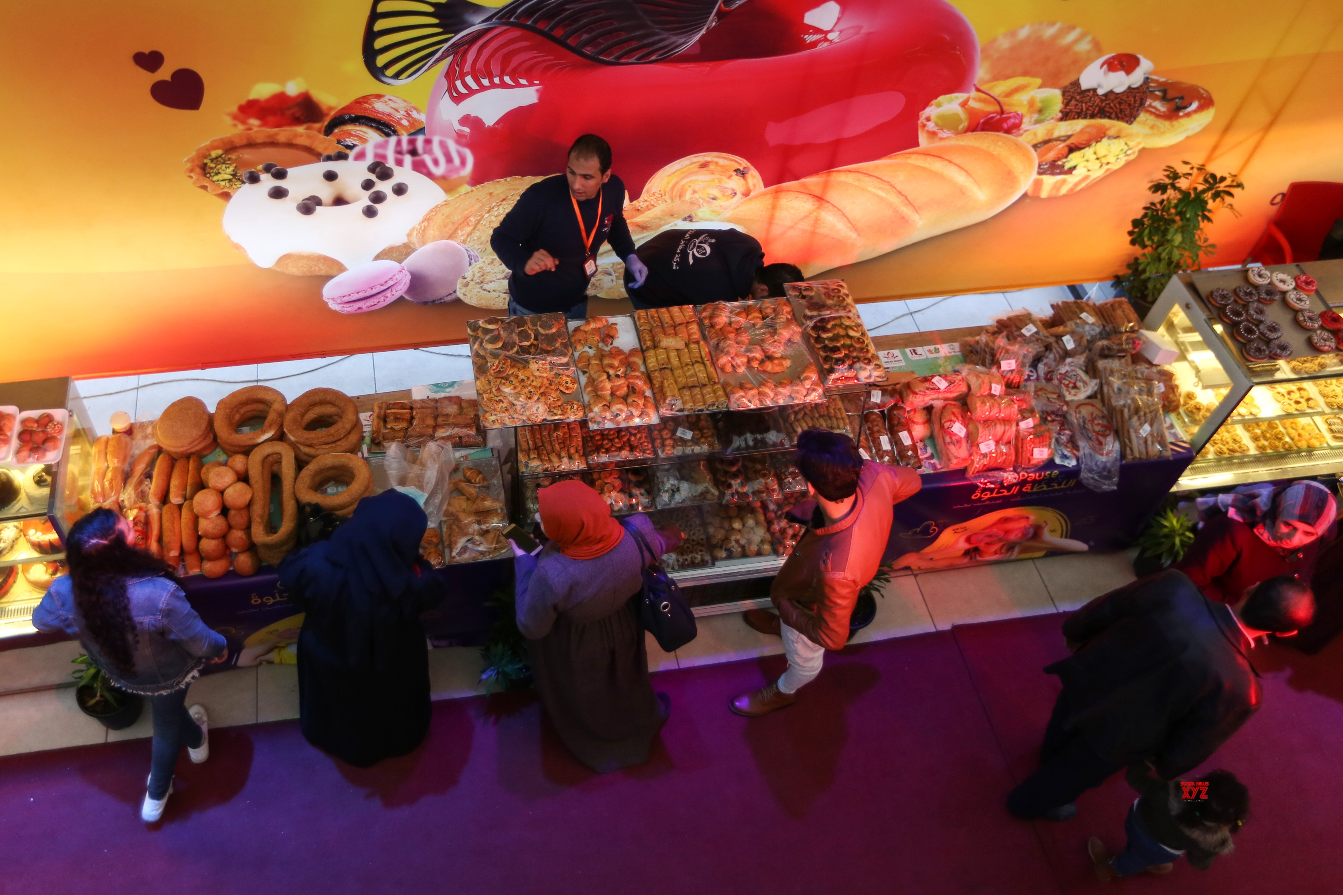 MIDEAST - GAZA CITY - SHOPPING FESTIVAL #Gallery