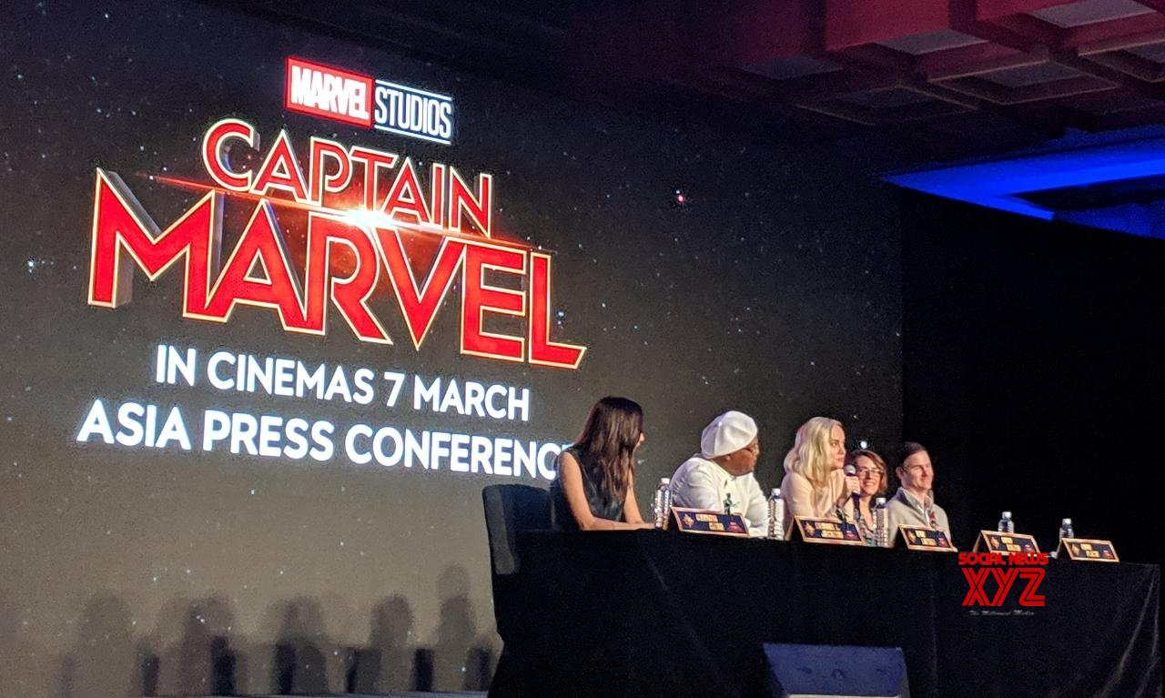 Singapore: Captain Marvel - press conference #Gallery