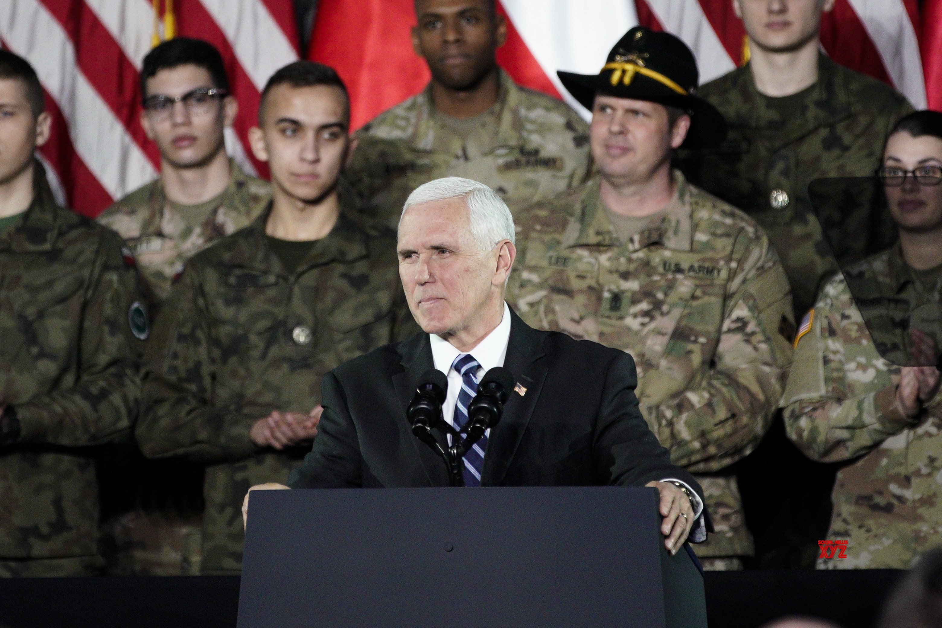 POLAND - WARSAW - U.S. - MIKE PENCE - VISIT #Gallery