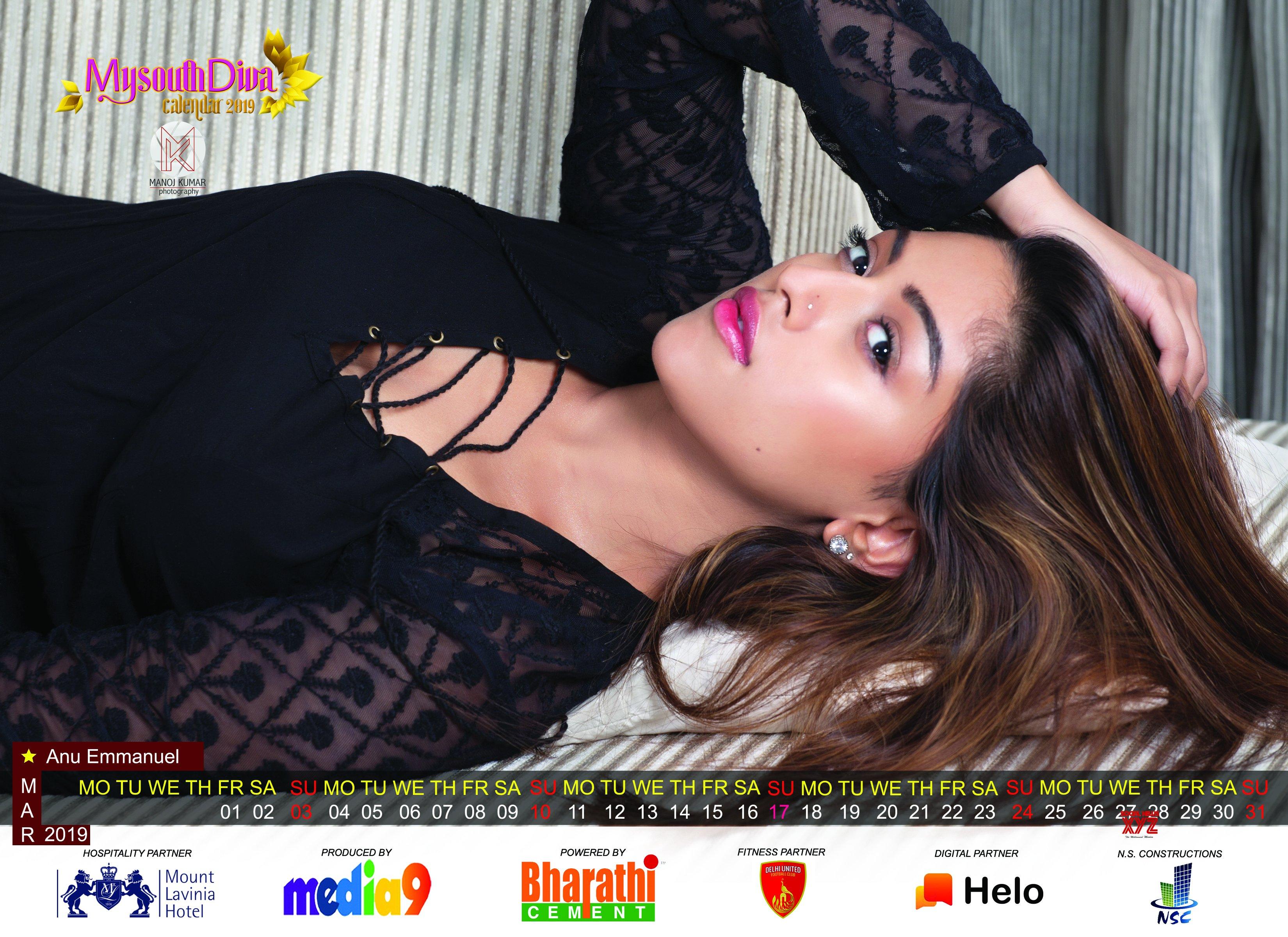 My South Diva Hot Calendar 2019 HD Gallery
