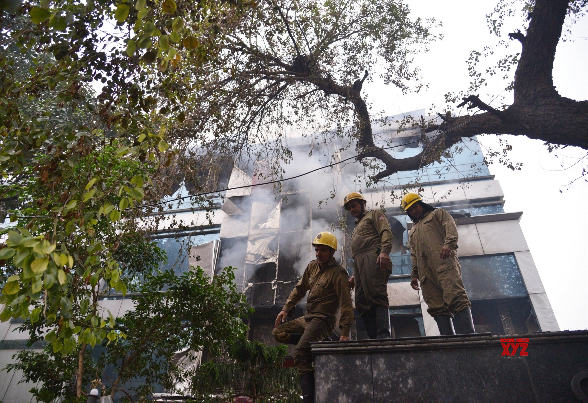 New Delhi: Fire breaks out in Delhi factory #Gallery