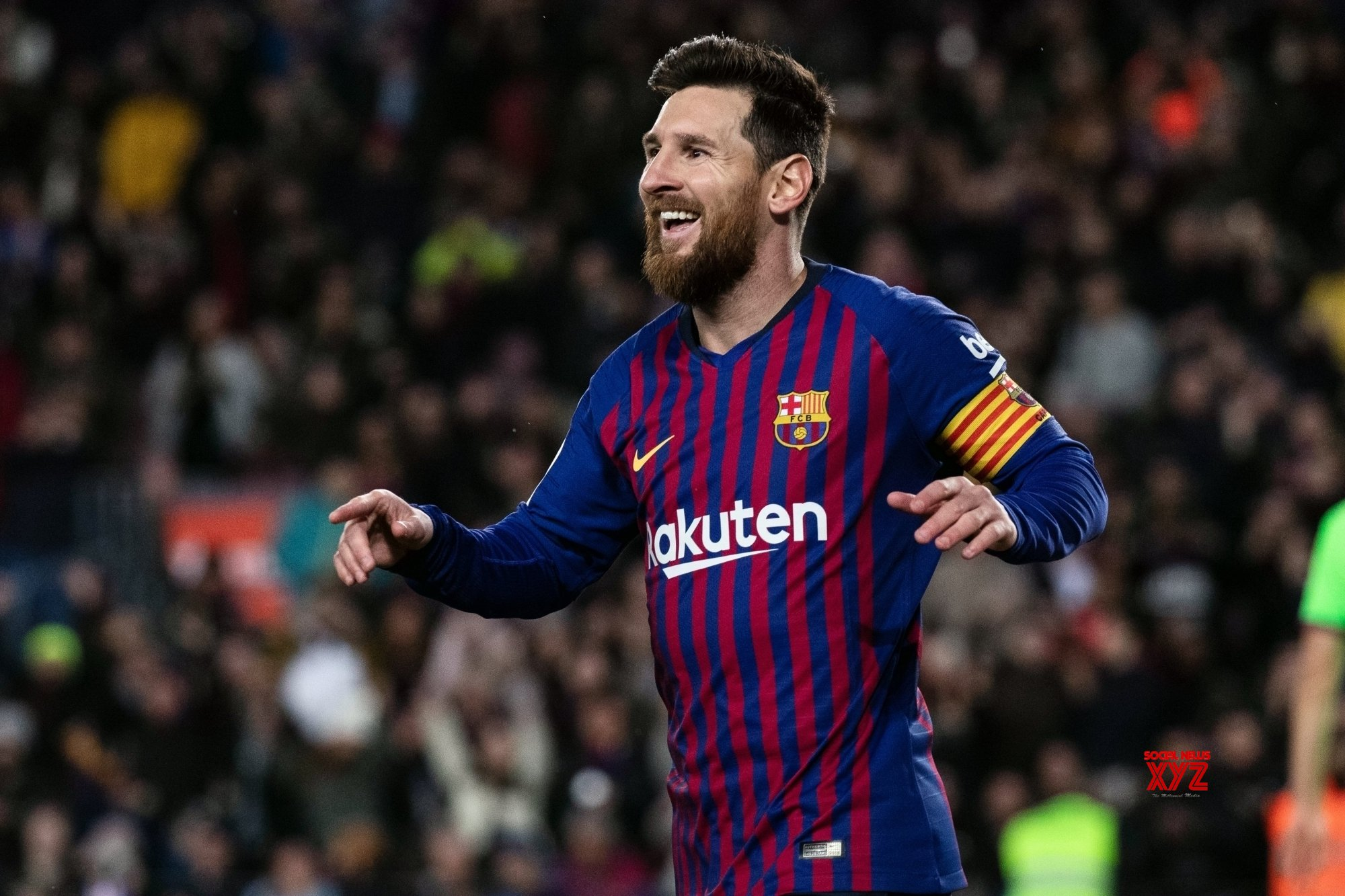 Considered leaving Barcelona in 2017, says Messi