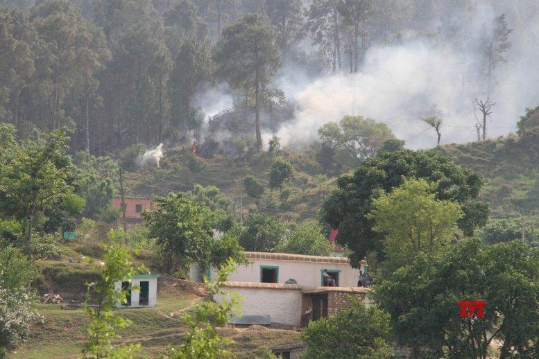 Heavy firing on LoC in Rajouri district