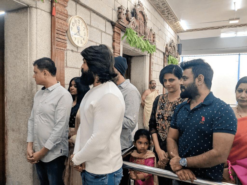 Kgf Chapter 2 Movie Pooja Stills Social News Xyz