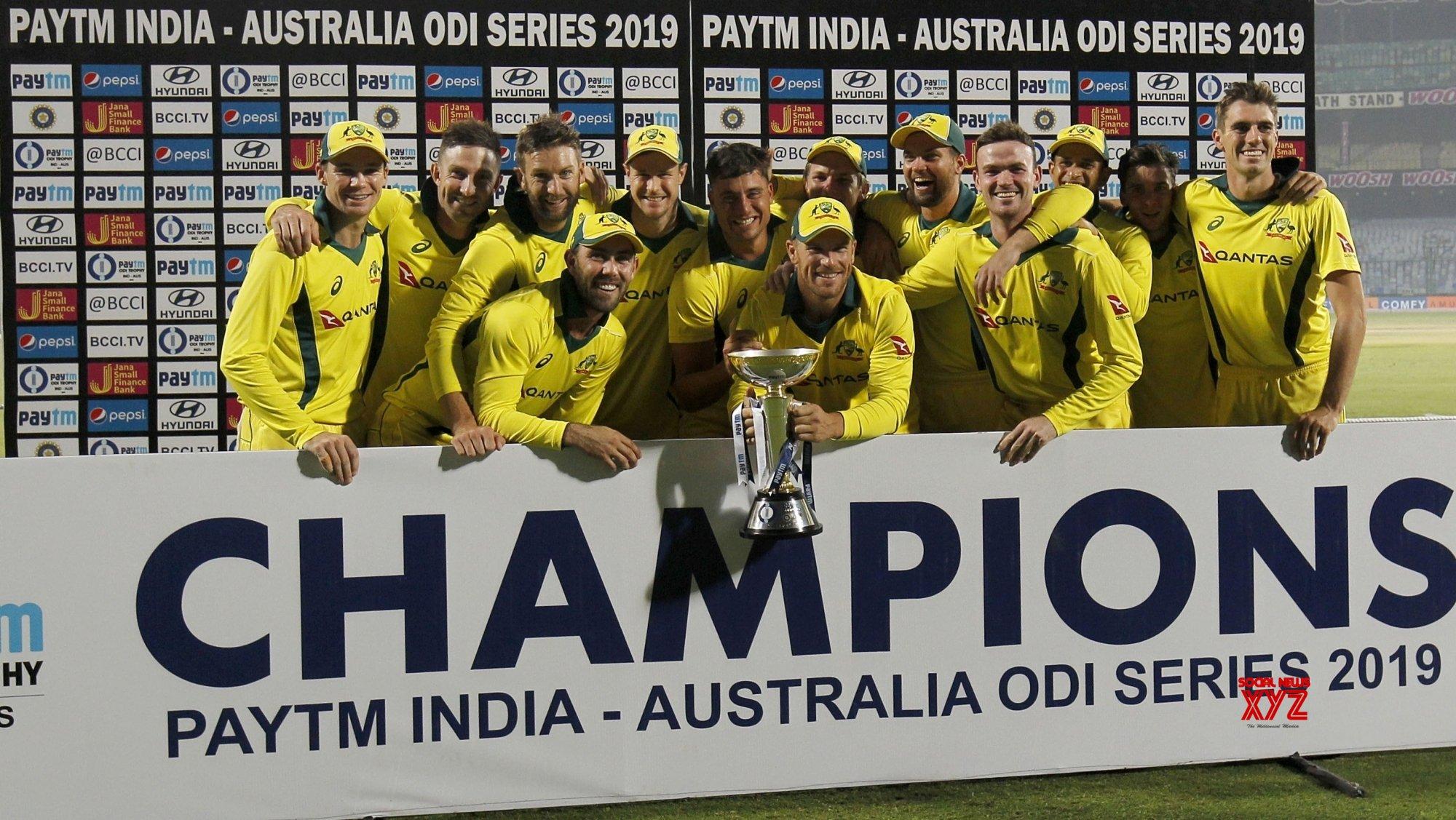 Image result for india v australia 5th odi series win paytm