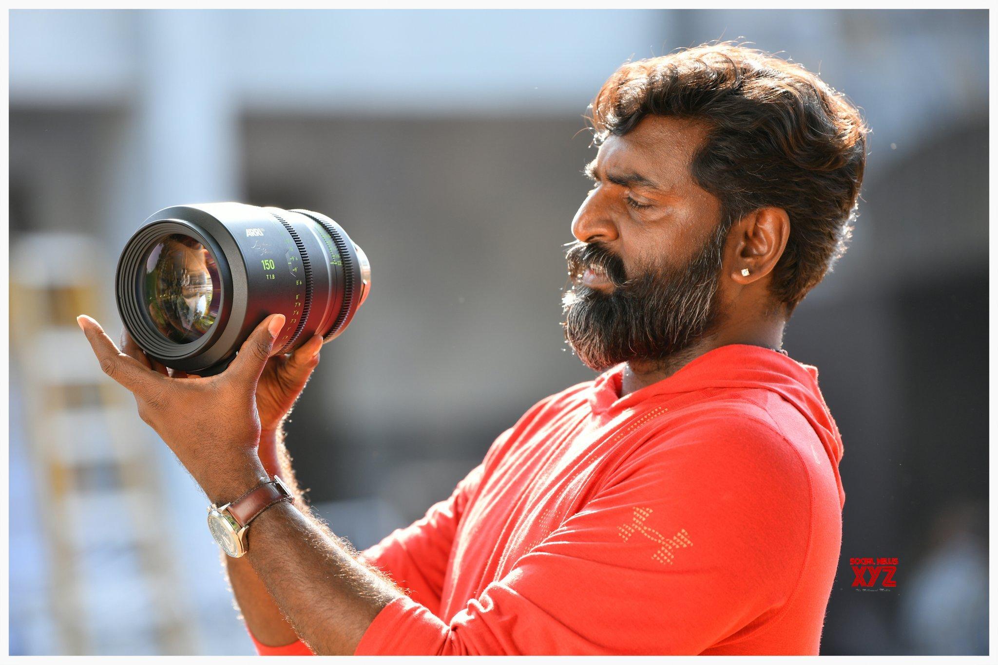 DOP KK Senthil Kumar Stills With New 150mm Signature Prime Lens Used For RRR Movie