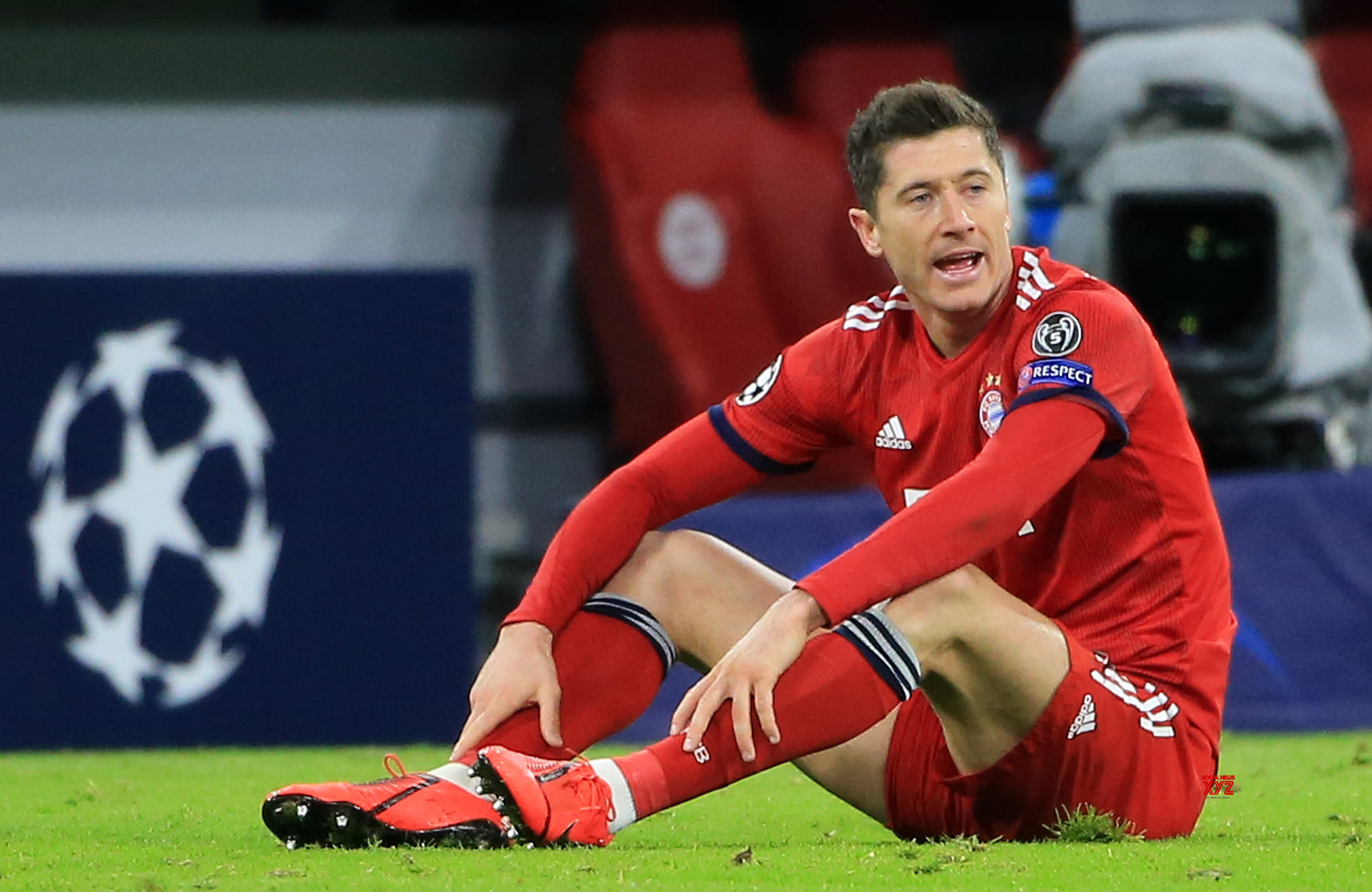 GERMANY - MUNICH - SOCCER - UEFA CHAMPIONS LEAGUE - 1/8 FINALS - BAYERN MUNICH VS LIVERPOO #Gallery