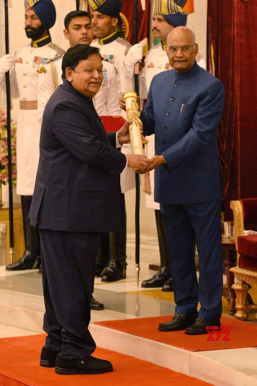 New Delhi: President Kovind presents Padma Awards - Anilkumar Manibhai Naik #Gallery